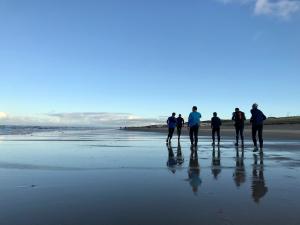 Hardlopen aan het strand
