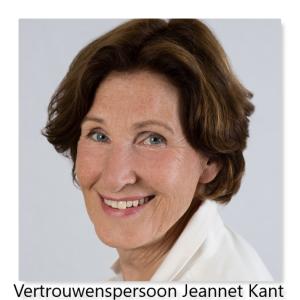 Vertrouwenspersoon Jeannet Kant
