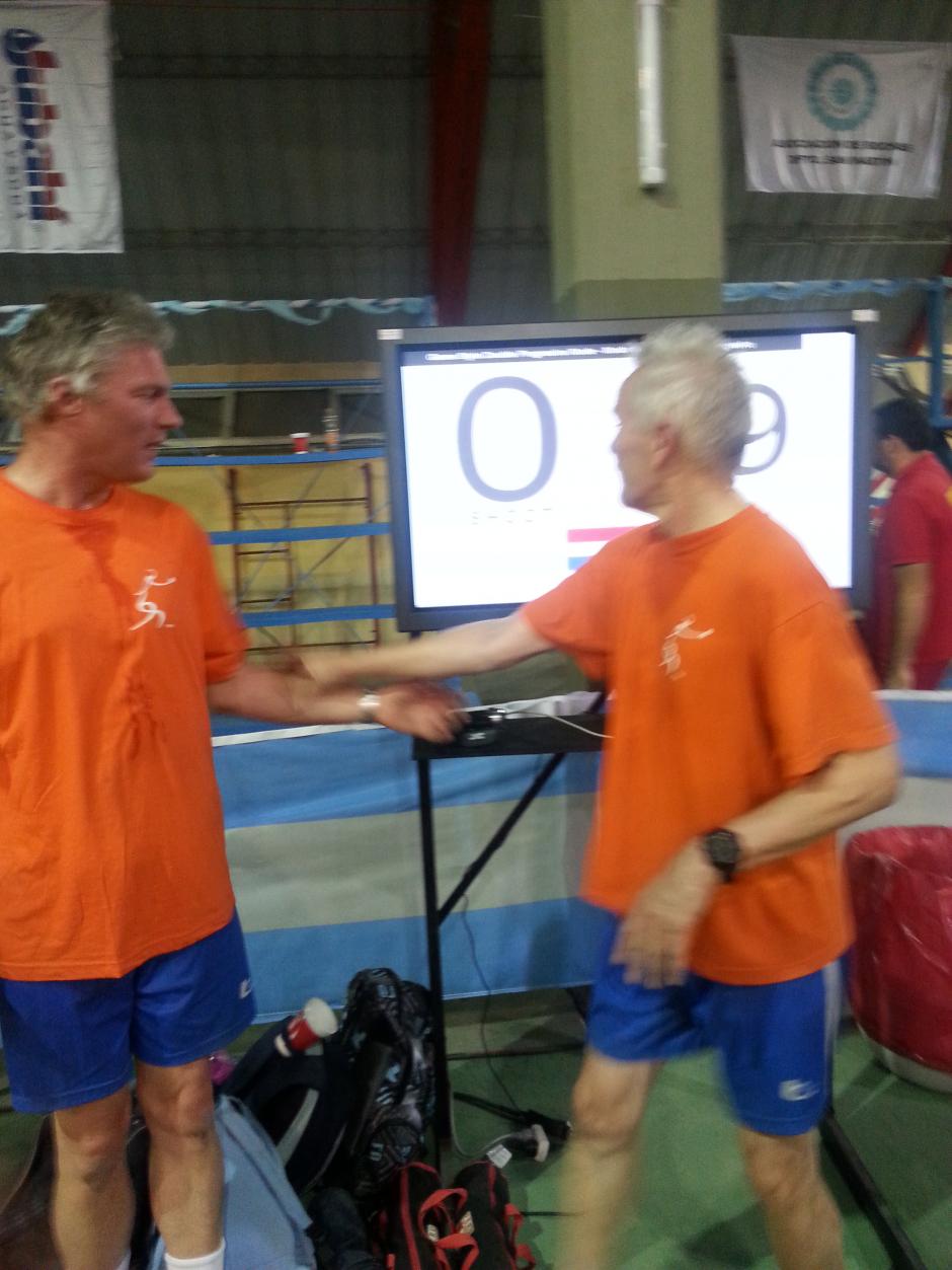 Met Nederlands record Relais 19 punten