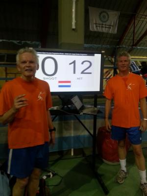 Paul Biersteker (links) en Jos Metselaar (rechtst)